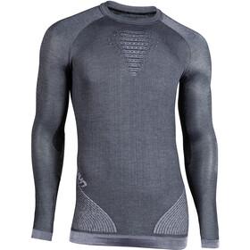 UYN Cashmere Silky UW LS Roundneck Shirt Herre celebrity silver